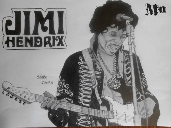 Jimi Hendrix by MisterDessinateur45